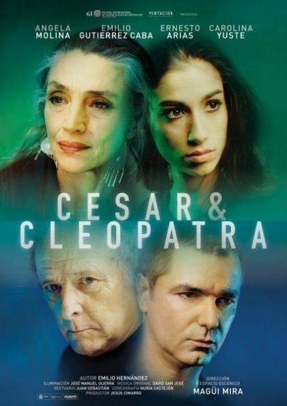 César y Cleopatra - Pentación